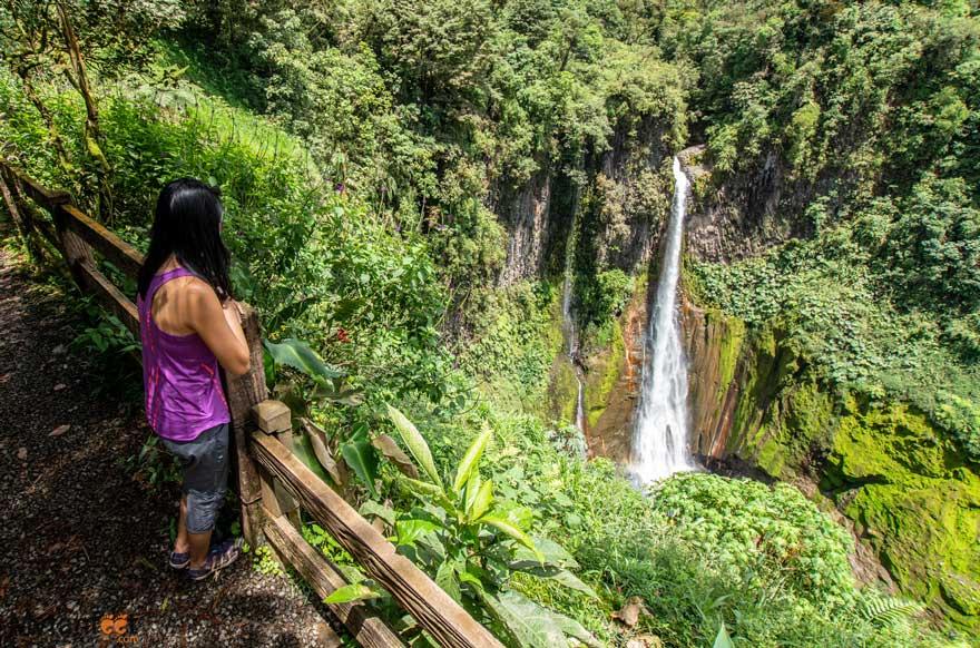 Bajos del Toro - Catarata del toro waterfall