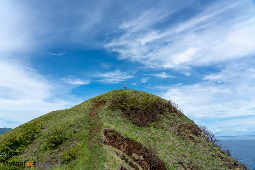 Bat Islands Isla San Jose hill
