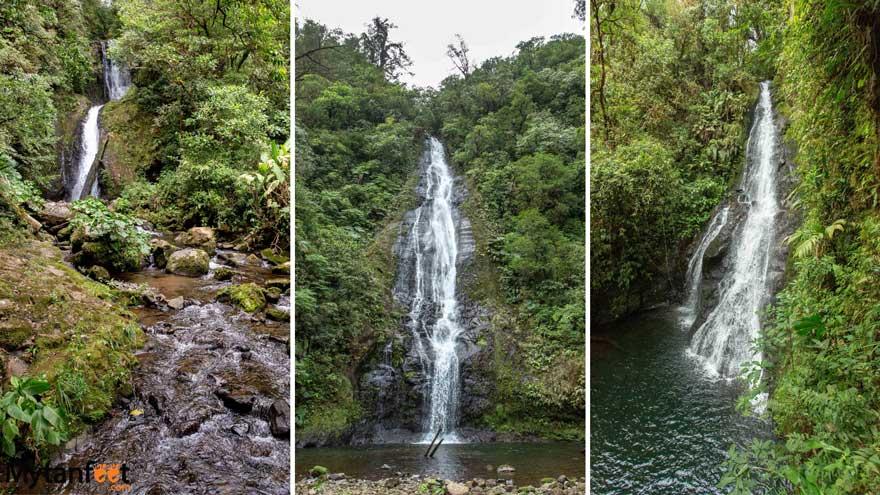El Silencio Lodge and Spa waterfalls