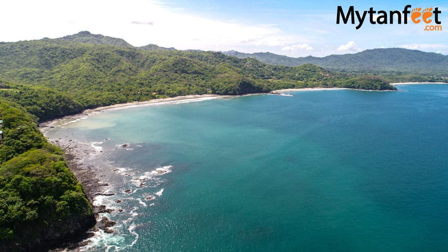 Playa Prieta aerial view