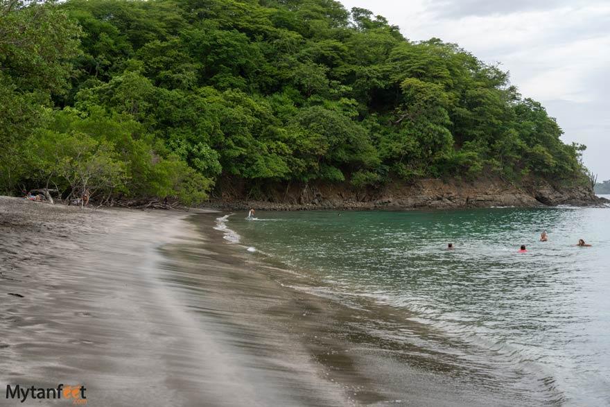 Swimming at Playa Prieta