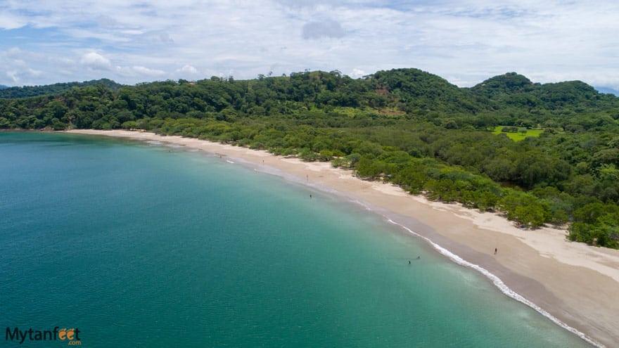 Rajada beach drone