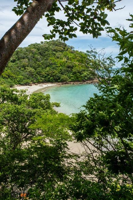 Playa Rajada view of beach next door