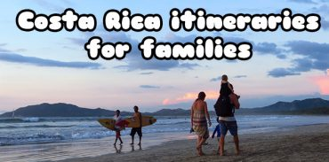 Costa Rica itinerary for families featured