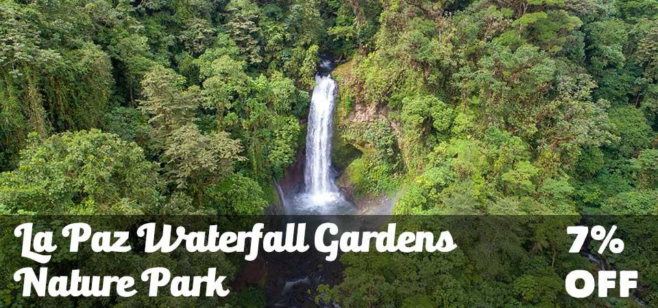 La Paz Waterfall Gardens 10% OFF