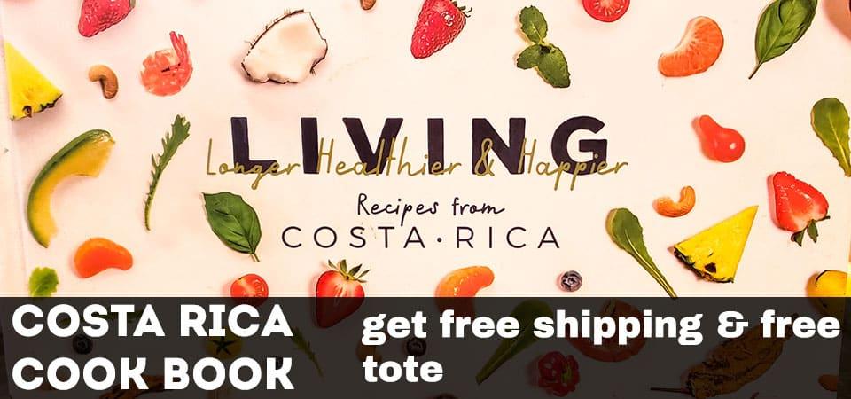Costa Rica cooking book