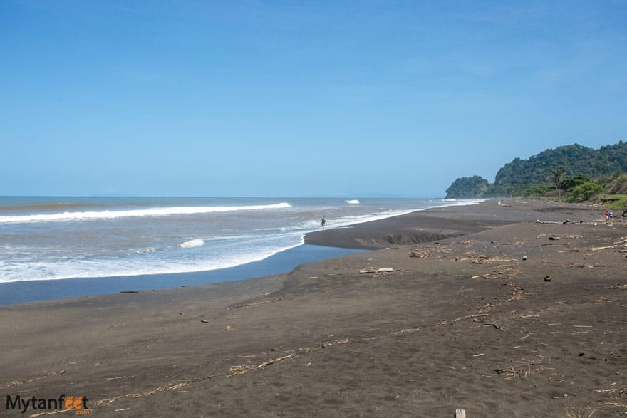 Hermosa beach in Puntarenas