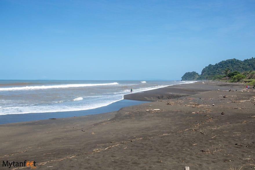 Hermosa beach in Puntarenas