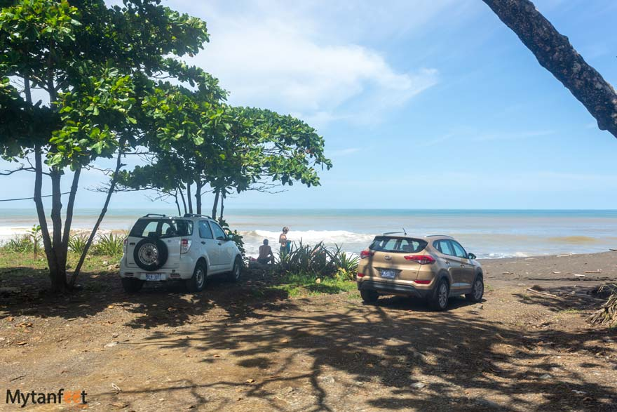 Parking at Hermosa beach