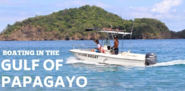 boating in playas del coco marcy featured