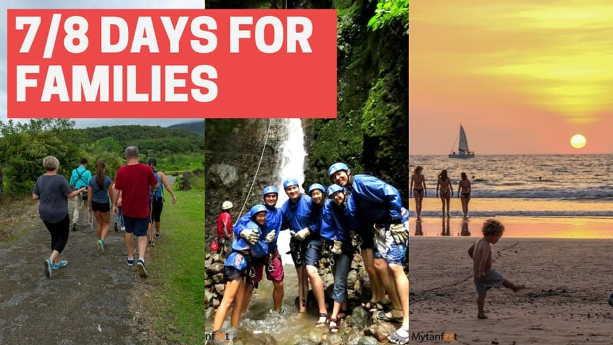 Costa Rica family itineraries