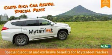 costa rica car rental discount featured