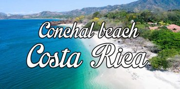 Conchal beach, Costa Rica in Guanacaste