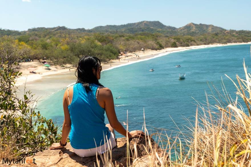 Playa Conchal viewpoint