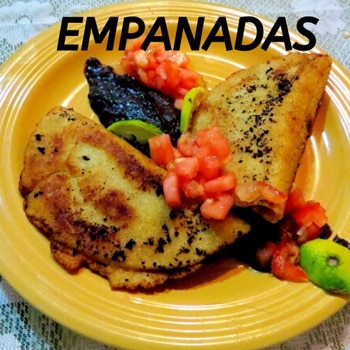 Costa Rican empanadas