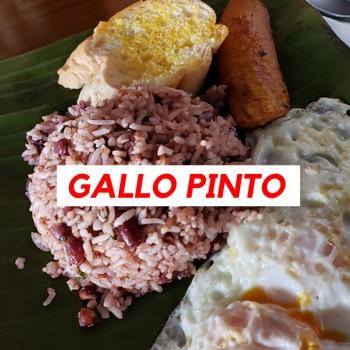 Gallo pinto Costa Rican style