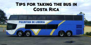 public transportation Costa Rica bus featured