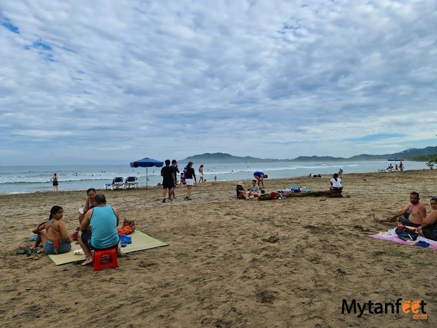 costa rica coronavirus - tamarindo beach in july