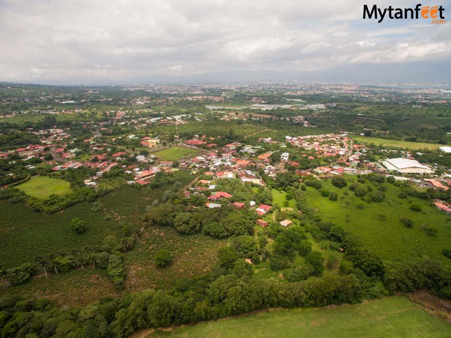 Heredia, Costa Rica view