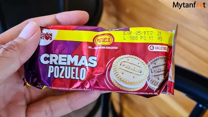 costa rican snacks - cremas