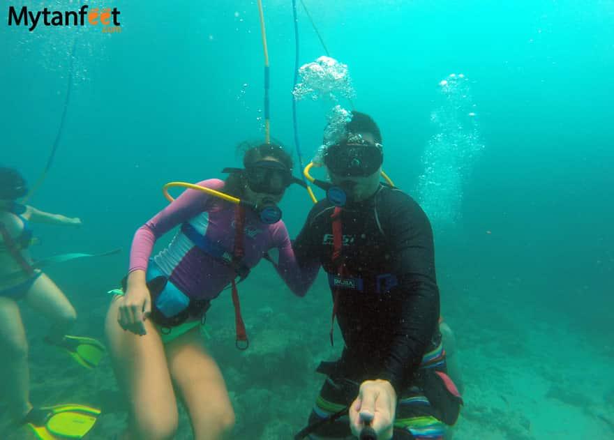scuba diving costa rica snuba