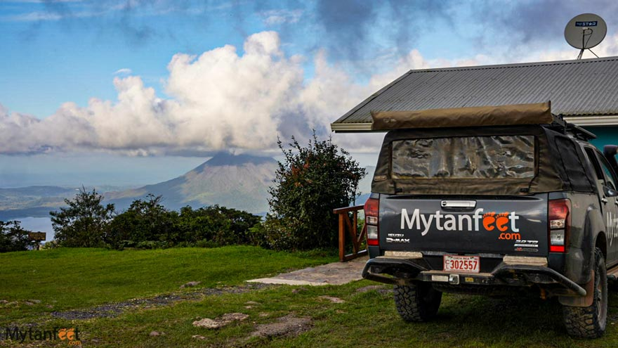 free things to do in Monteverde - Arenal Volcano viewpoint