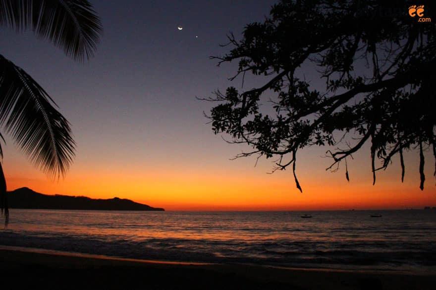 Brasilito, Costa Rica sunset