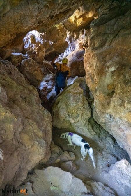 caves hike
