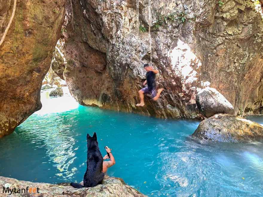 Catarata la leona swimming pool