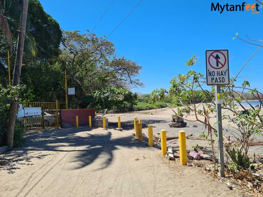 Brasilito beach entrance