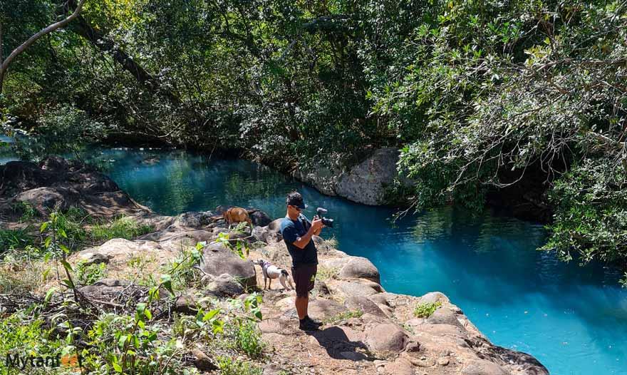 Curubande de Liberia (Catarata La Leona) river pools