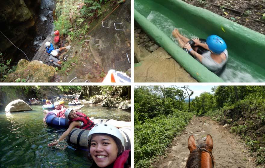 Curubande adventure tours: Guachipelin and Buena Vista