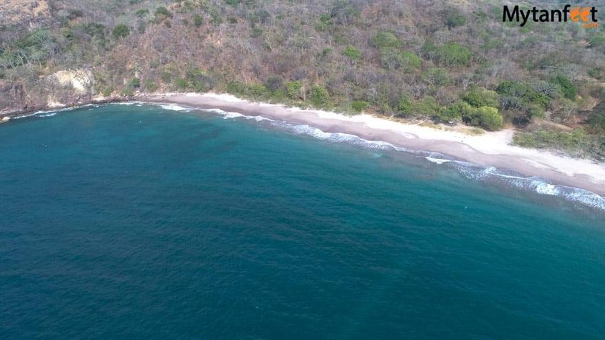 best beaches in guanacaste costa rica - playa mina
