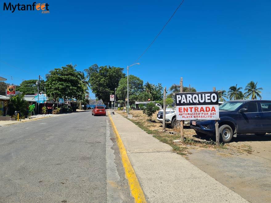 Brasilito parking lot