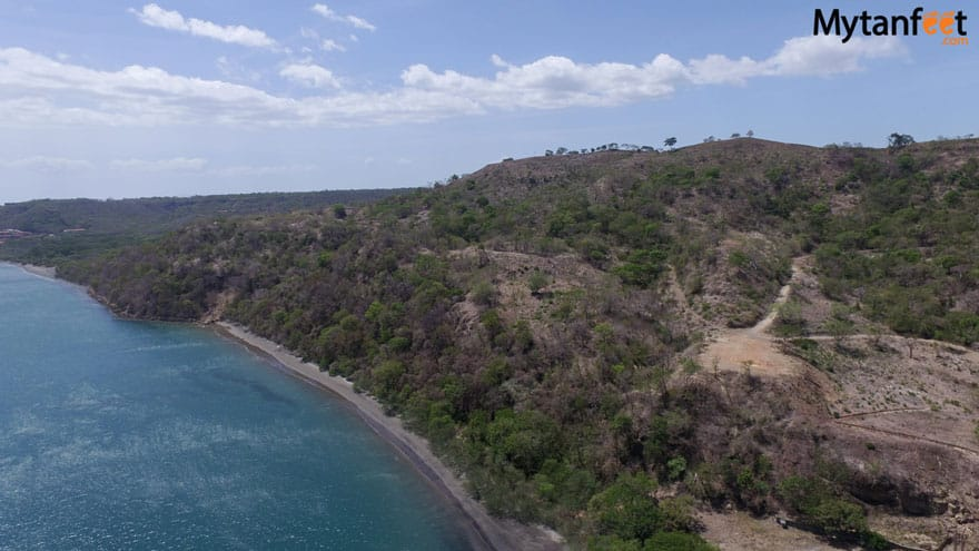 Iguanita wildlife Refuge beach