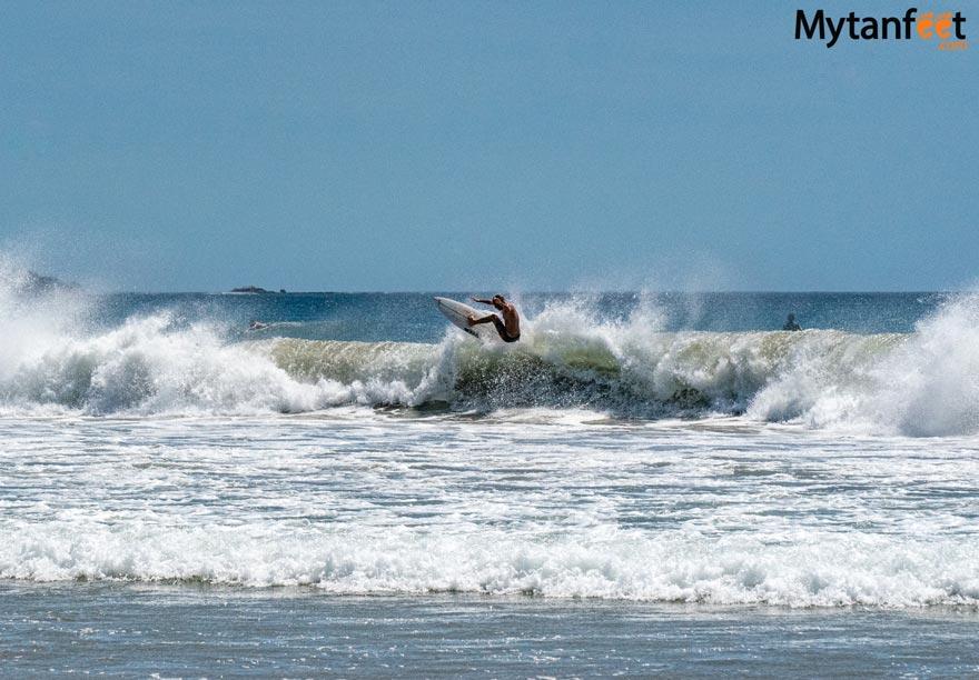 Playa Grande surfer