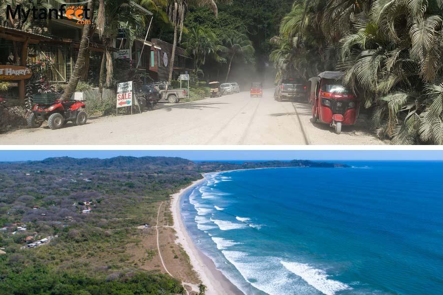best beach towns in costa rica - nosara