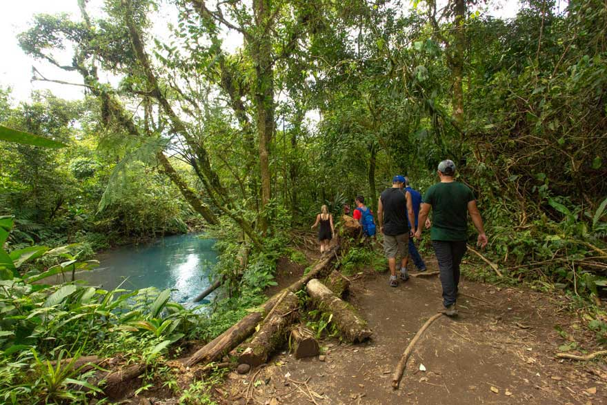 rio celeste path
