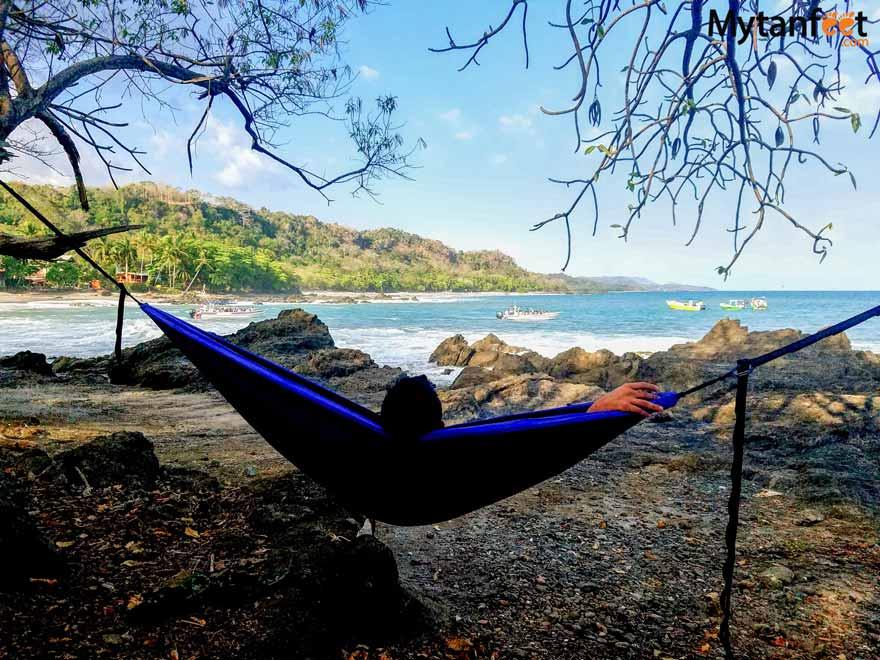 Relaxing in Montezuma, Costa Rica