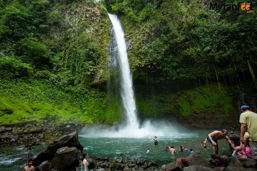 La Fortuna waterfall pool