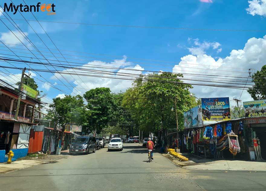 Playas del Coco town