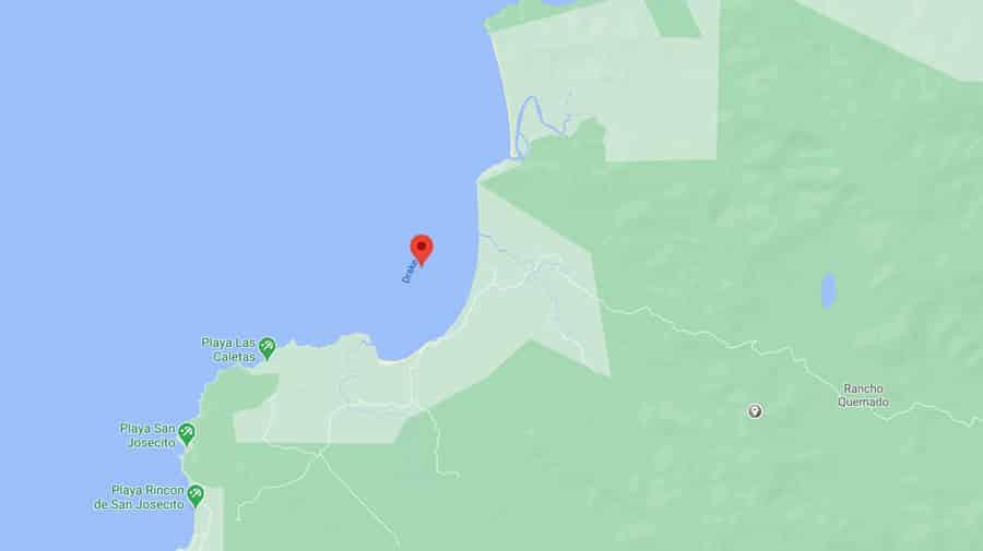 Drake Bay Map