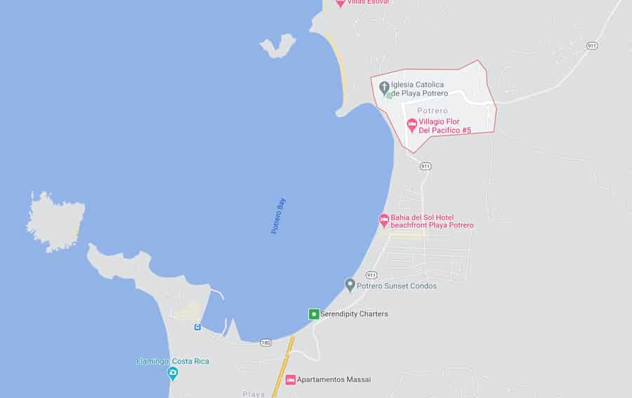Potrero map