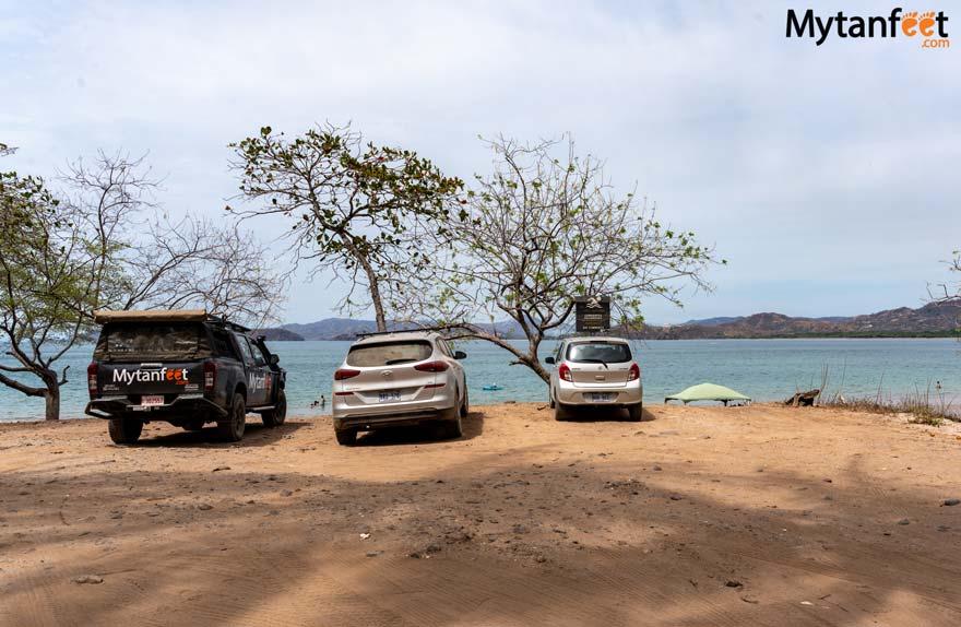 Puerto Viejo Guanacaste parking