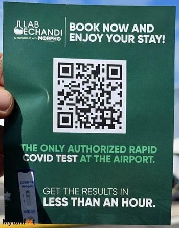 COVID test Liberia Airport San Jose Airport