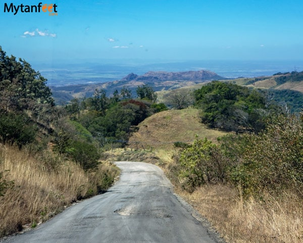 Route 142 from Monteverde