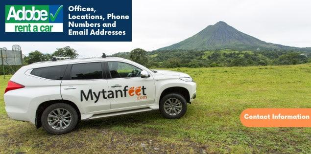 Adobe Car Rental Costa Rica